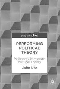Cover Performing Political Theory