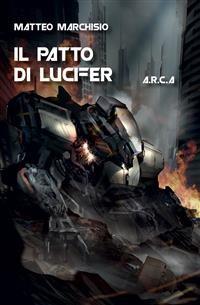 Cover A.R.C.A. vol.5 - Il patto di Lucifer