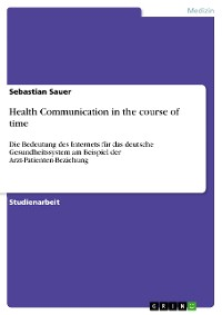 Cover Health Communication in the course of time