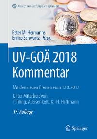 Cover UV-GOÄ 2018 Kommentar