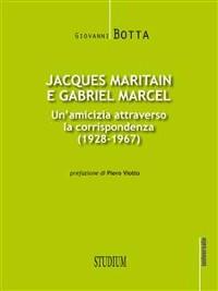 Cover Jacques Maritain e Gabriel Marcel