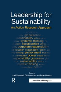 Cover Leadership for Sustainability