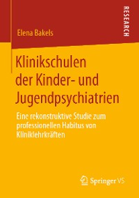 Cover Klinikschulen der Kinder- und Jugendpsychiatrien