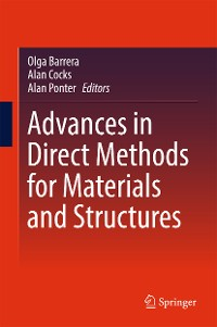 Cover Advances in Direct Methods for Materials and Structures
