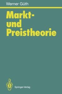 Cover Markt- und Preistheorie