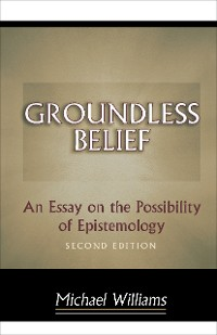Cover Groundless Belief