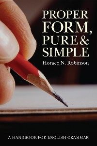 Cover Proper Form, Pure and Simple