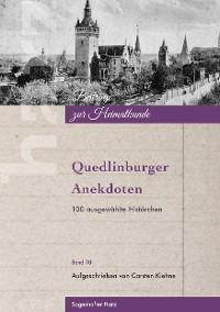 Cover Quedlinburger Anekdoten