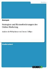 Cover Strategien und Herausforderungen des Online-Marketing