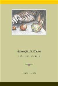 Cover Antologia di poesie. Note nel viaggio