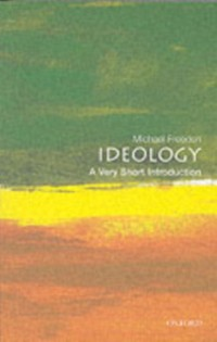 Cover Ideology: A Very Short Introduction