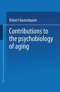 Cover Contributions to the Psychobiology of Aging