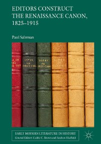 Cover Editors Construct the Renaissance Canon, 1825-1915