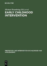 Cover Early Childhood Intervention