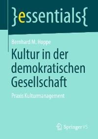 Cover Kultur in der demokratischen Gesellschaft