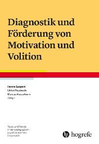 Cover Diagnostik und Förderung von Motivation und Volition