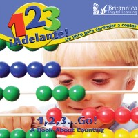 Cover 1, 2, 3, !Adelante! Un libro para aprendar a contar (1,2,3, Go!)