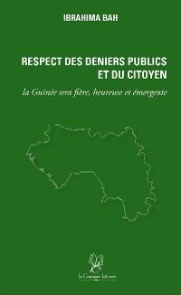 Cover Respect des Deniers Publics et du Citoyen