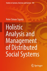 Cover Holistic Analysis and Management of Distributed Social Systems