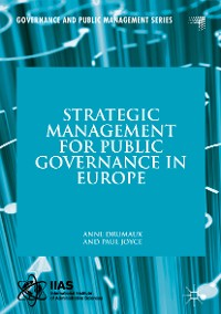 Cover Strategic Management for Public Governance in Europe