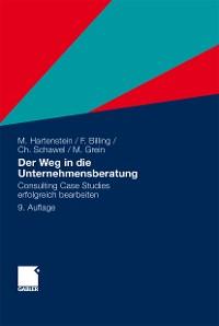 Cover Der Weg in die Unternehmensberatung