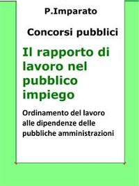 Cover Il rapporto di lavoro nel pubblico impiego