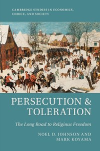 Cover Persecution and Toleration