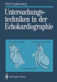 Cover Untersuchungstechniken in der Echokardiographie