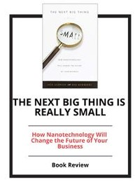 Cover The Next Big Thing Is Really Small