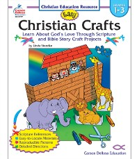 Cover Easy Christian Crafts, Grades 1 - 3
