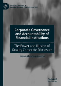 Cover Corporate Governance and Accountability of Financial Institutions