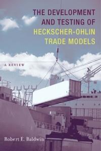 Cover Development and Testing of Heckscher-Ohlin Trade Models