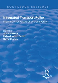 Cover Integrated Transport Policy