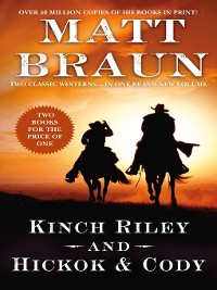 Cover Kinch Riley and Hickok and Cody