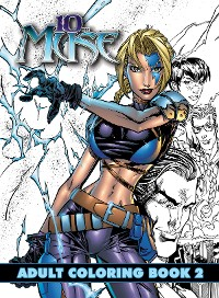 Cover 10th Muse: Adult Coloring Book: Volume 2