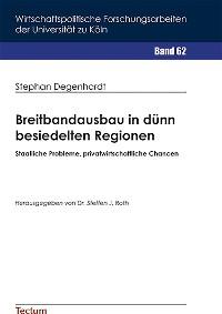 Cover Breitbandausbau in dünn besiedelten Regionen