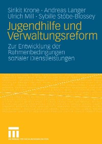 Cover Jugendhilfe und Verwaltungsreform