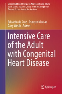 Cover Intensive Care of the Adult with Congenital Heart Disease