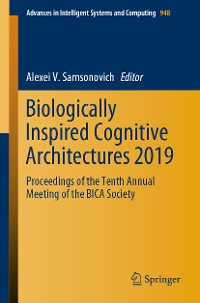 Cover Biologically Inspired Cognitive Architectures 2019