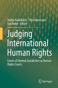 Cover Judging International Human Rights