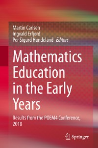 Cover Mathematics Education in the Early Years