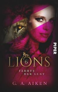 Cover Lions - Fährte der Lust