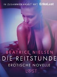 Cover Die Reitstunde - Erotische Novelle