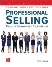 Cover ISE eBook Online Access for Professional Selling