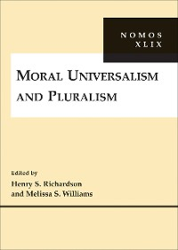 Cover Moral Universalism and Pluralism