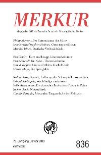 Cover MERKUR Gegründet 1947 als Deutsche Zeitschrift für europäisches Denken - 2019-1