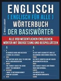 Cover Englisch ( Englisch für Alle ) Wörterbuch der Basiswörter