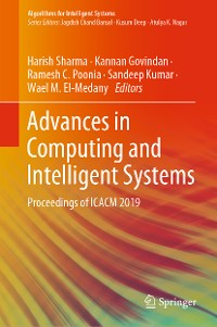 Cover Advances in Computing and Intelligent Systems