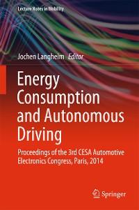 Cover Energy Consumption and Autonomous Driving