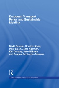 Cover European Transport Policy and Sustainable Mobility